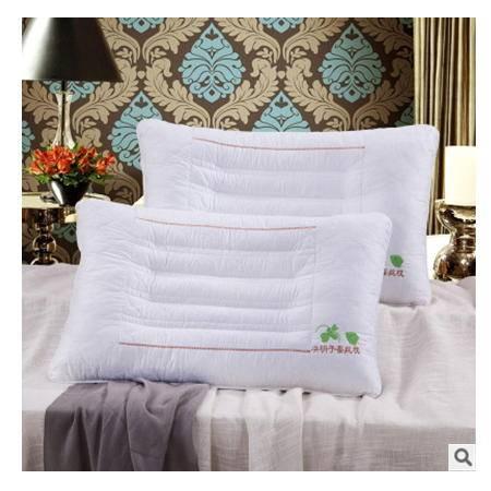 夏季保健护颈椎枕芯 颈椎病专用枕芯决明子蚕丝枕 两面用枕头 优里卡