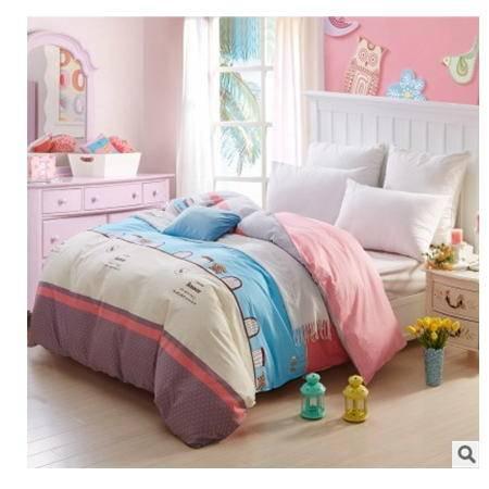 被罩 活性印花斜纹被套被罩 床上用品纯棉斜纹单被套优里卡