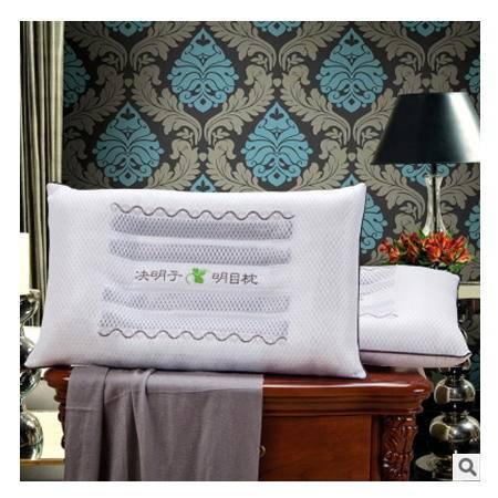 网眼透气夏天助眠枕芯 单双人高级枕心3D网眼决明子枕头 优里卡