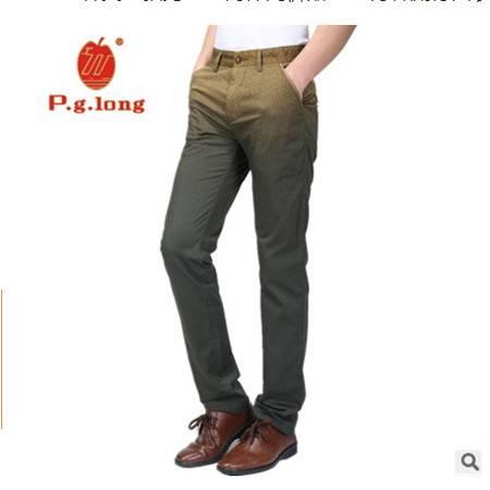 渐变色青春流行西装男裤高端男装2016春夏新款男士直筒休闲裤龙仕顿包邮