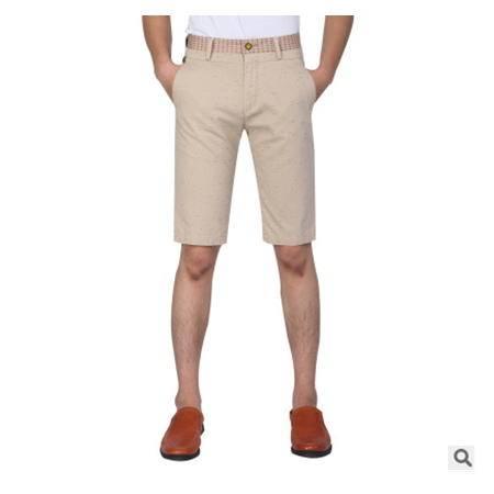 印花时尚沙滩裤休闲五分裤男男式休闲裤 夏季新款男裤 龙仕顿包邮
