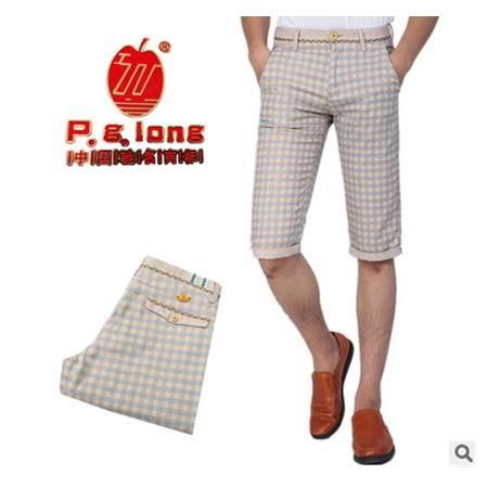 时尚休闲沙滩裤五分裤男士休闲裤夏季新款龙仕顿包邮