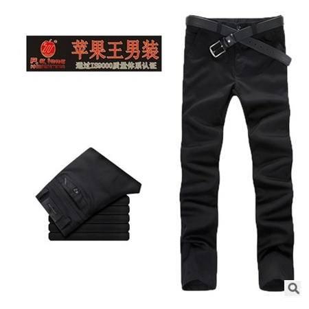 品牌宽松直筒男式弹性休闲裤 男士裤宽松长裤新款男装龙仕顿包邮