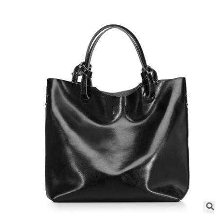 女包2016春夏新款欧美时尚油蜡牛皮大包单肩手提包包外贸真皮强士利包邮