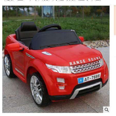 路虎儿童电动车四轮汽车越野男女童车带遥控宝宝小孩双驱动可坐人爱童