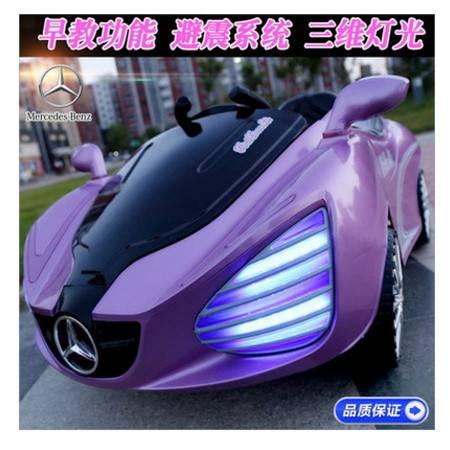 双驱四轮有遥控可坐宝宝带灯光带音乐新款奔驰儿童电动汽车爱童