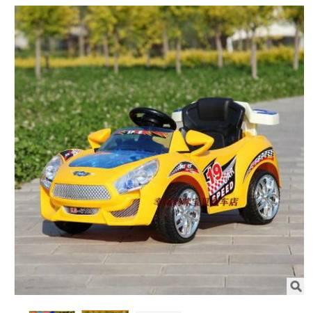 宝宝可做双驱带遥控童车小孩电瓶汽车大电瓶儿童电动车四轮玩具车爱童