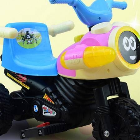 宝宝益智代步飞机款儿童电动车摩托车三轮车爱童