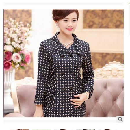 中年女装春秋款风衣40-50岁妈妈装春装外套中老年女装上衣系卖