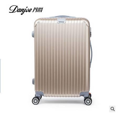 旅行箱拉链密码箱硬皮箱丹爵拉杆箱万向轮男女行李箱子包邮