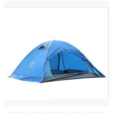 防暴雨带雪裙帐篷超轻户外双人双层铝杆帐篷拓步包邮