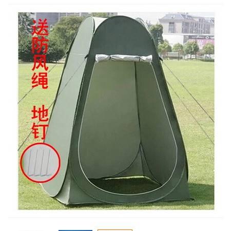 野外移动厕所摄影钓鱼WC帐篷模特换衣帐篷双人洗澡沐浴更衣帐篷拓步