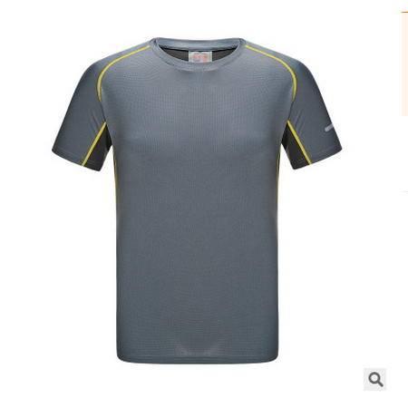 透气排汗短袖竹炭速干衣2016途路者短袖t恤男女款户外运动速干T恤银锋