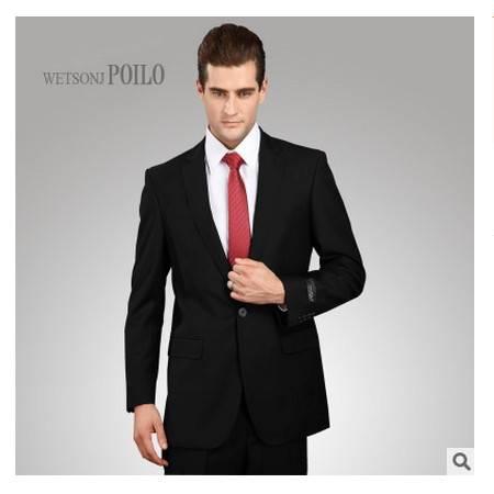 商务修身婚礼伴郎西装 职业正装定制爆款男士西服套装祥服包邮