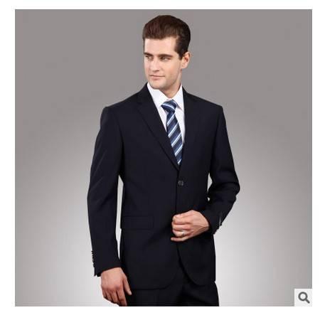 男士西服商务职业 屈臣保罗高档含毛套装西装套装 西服定制 祥服包邮