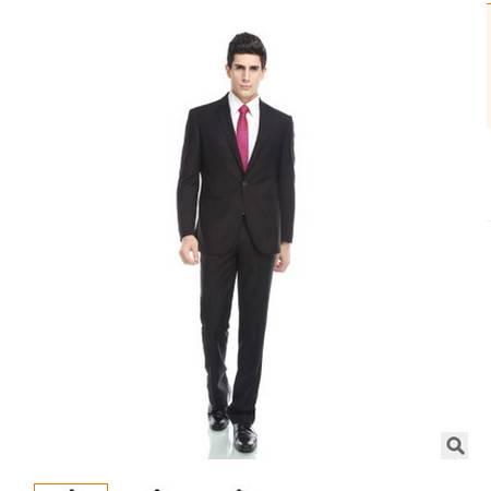 羊毛休闲小霞西装2016爆款 一扣商务结婚男士西服套装 祥服包邮