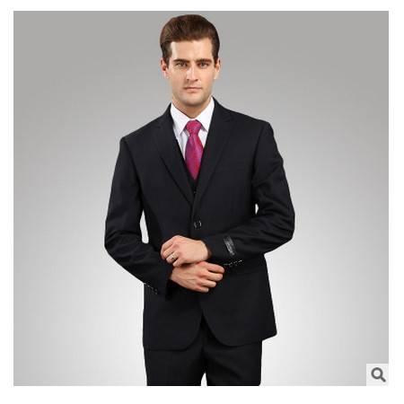 职业商务套装2016爆款男士西装三件套祥服包邮