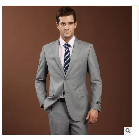 单件灰色 职业西服上衣男西装商务礼服伴郎新郎宴会男式西装祥服包邮