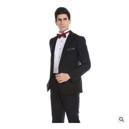 新郎结婚宴会礼服优雅绅士男士西装婚庆礼服男式西服套装祥服包邮