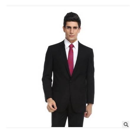 新郎伴郎套装面试西装商务保罗西装修身西服祥服包邮