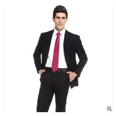 礼服商务套装两扣时尚修身西装套装秋款高档西装祥服包邮