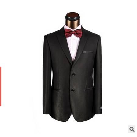 高级定制纯羊毛礼服新郎伴郎结婚礼服 修身爆款礼服祥服包邮