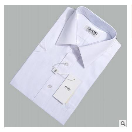 男士短袖纯色薄款纯棉商务绅士男式衬衫夏季高档名牌衬衫祥服包邮