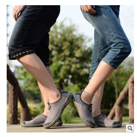 轻便透气 防滑耐磨情侣鞋夏季男士户外溯溪鞋 可尼
