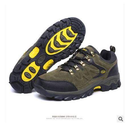 防滑越野男鞋耐磨户外鞋秋冬新款徒步登山鞋可尼