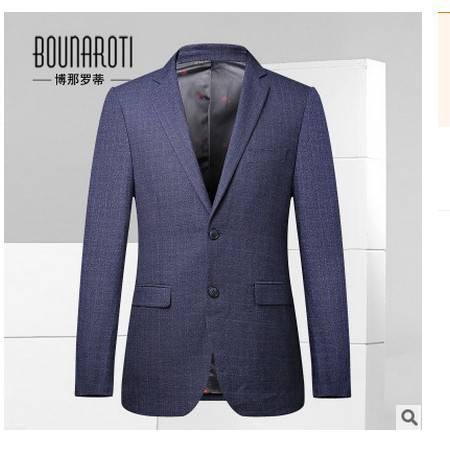日系复古男士小西装外套时尚潮流男装2016秋上新男式西服博纳罗蒂包邮