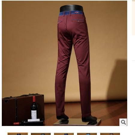 直筒高档棉质男裤2016春季新款男式休闲裤 时尚薄款卓丹龙包邮