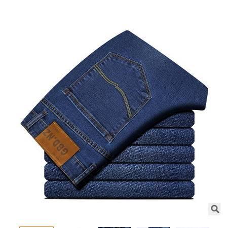 时尚薄款 直筒高档棉质男裤2016春新款男式休闲裤 卓丹龙包邮