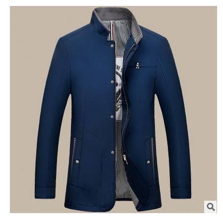 高档商务男装外套 时尚立领2016秋冬新款男式夹克 卓丹龙包邮