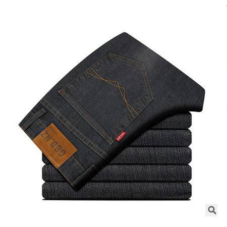 时尚薄款 直筒高档棉质男裤 2016春新款男式休闲裤 卓丹龙包邮