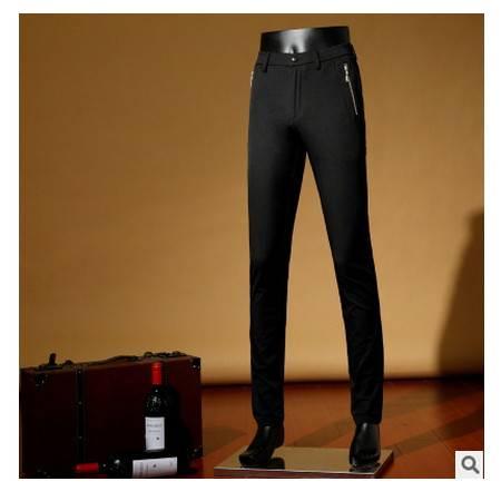时尚薄款 直筒高档棉质男裤2016春季新款男式休闲裤卓丹龙包邮