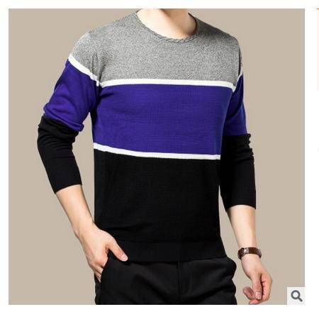 高档丝光羊毛衫2016秋季新款男式针织衫 时尚男装 卓丹龙