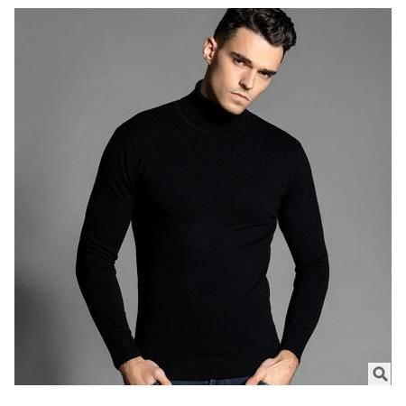 薄款精品全羊毛高领 男装2016秋季新款男式羊毛衫卓丹龙包邮