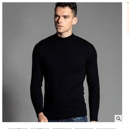 薄款精品羊毛小高领 男装2016秋季新款男式羊毛衫 卓丹龙包邮