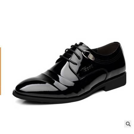 商务正装男士皮鞋新品男鞋真皮时尚单鞋男卡劲