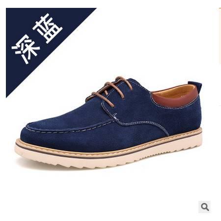 真皮男鞋品牌皮鞋鞋子秋季新品单鞋休闲鞋承发包邮