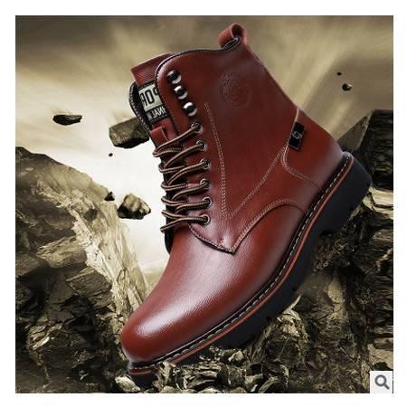 男士鞋靴真皮单靴男鞋秋季新品皮靴承发包邮
