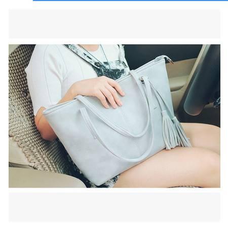 时尚潮流女士包包休闲大容量单肩包手提包秋冬季新款流苏大包安雅