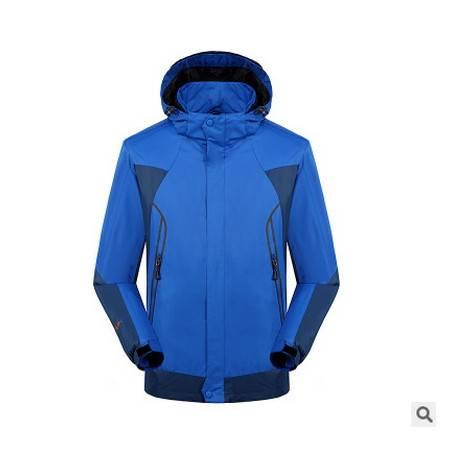 男女款 情侣运动滑雪服专柜正品秋冬户外抓绒三合一两件套冲锋衣银锋包邮