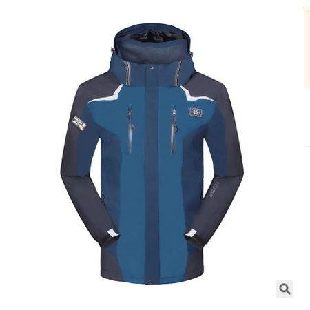 四季户外外套西藏女加厚防水保暖潮韩版情侣冲锋衣三合一男两件套银锋包邮