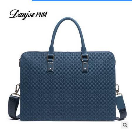 斜挎包潮流手提公文包包型新款男士商务包时尚单肩包丹爵包邮