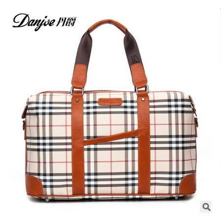 男士出差大容量手提行李袋男士旅行包短途旅行袋丹爵 包邮