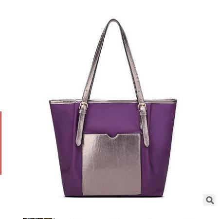韩版潮流简约购物袋女包单肩包手提包潮新款帆布大包包新安雅