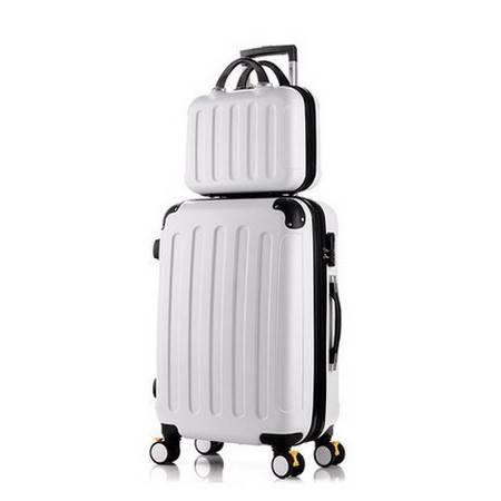 万向轮密码旅行箱化妆箱子母箱行李箱女拉杆箱美琪包邮