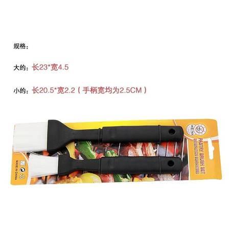 长柄耐高温硅胶料理刷子易清洗焙工具 烧烤刷 油刷拓步