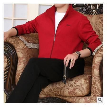 加厚宽松大码男士三件套运动套装 秋冬新款中老年休闲运动套装晋龙包邮